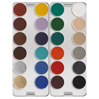 Make Up Aquacolor Palette